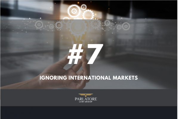 Elana Bertram, Parlatore Law Group LLP, Ignoring International Markets